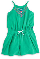 Roxy Girls 7-16 Embroidered Romper