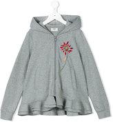 Fendi ruffle hem jacket - kids - Cotton - 2 yrs