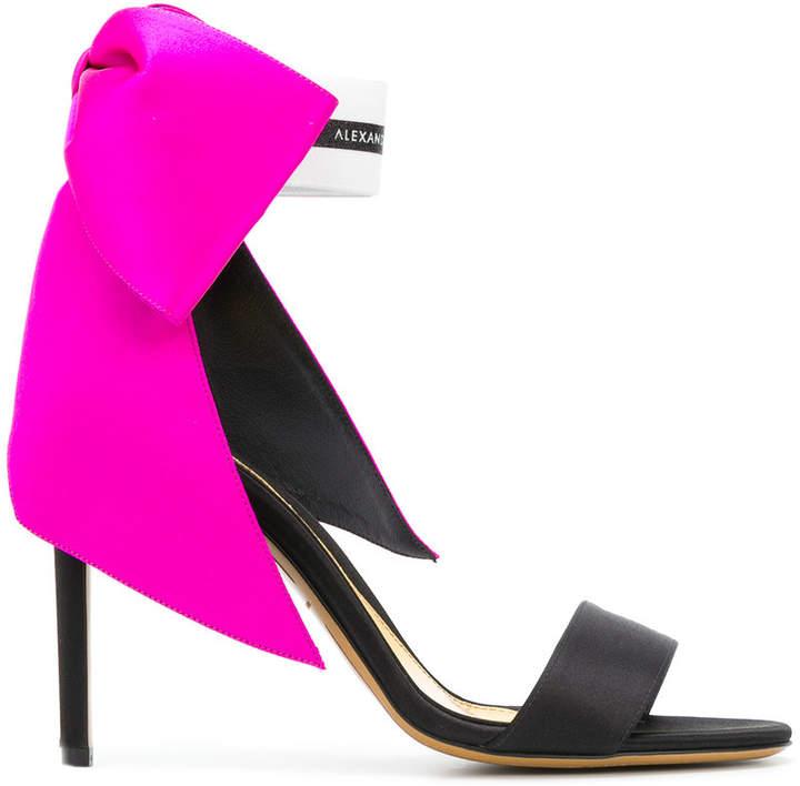 Alexandre Vauthier oversized bow sandals