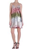 Ombré Sequin Swing Dress