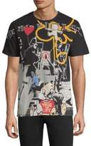 Eleven Paris Stensal Cotton Graffiti T-Shirt