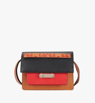 MCM Milano Shoulder Bag in Calfskin Leather