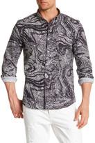 Saturdays NYC Print Trim Fit Shirt