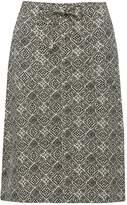 M&Co Tile print linen skirt