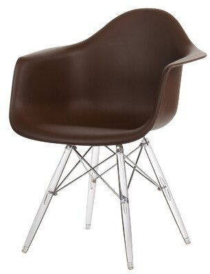 Joseph Allen Inspired Arm Chair Color: Brown