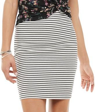 So Juniors' Simple Bodycon Skirt