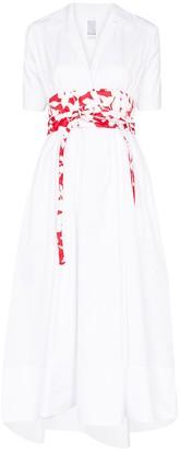 Rosie Assoulin Obi belted maxi dress