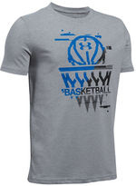 Under Armour Basketball Badge Printed Tee