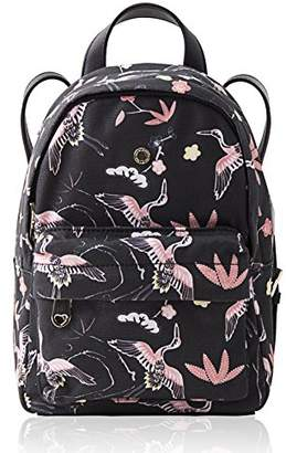 Mini Backpack for Women Printed Travel Backpack Bookbag for Girls by The Lovely Tote Co. (one