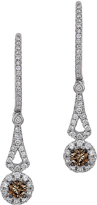 LeVian Le Vian Chocolatier 14K 0.55 Ct. Tw. Diamond Drop Earrings