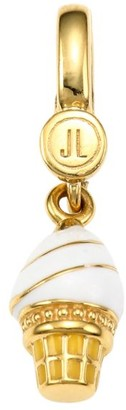 Judith Leiber 14K Goldplated Sterling Silver & Enamel Ice Cream Cone Charm