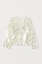H&M Sequined cardigan
