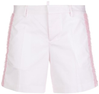 DSQUARED2 Tinsel Detail Shorts