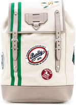 Bally Alpina backpack - men - Cotton - One Size