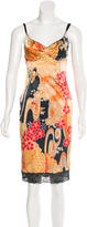 Dolce & Gabbana Floral Printed Sleeveless Dress