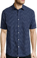 Claiborne Weekend Casual Short-Sleeve Woven Shirt