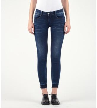 Le Temps Des Cerises Pulp Cropped Slim Fit Push-Up Jeans
