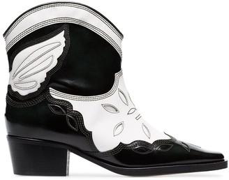 Ganni Texas 40 cowboy boots