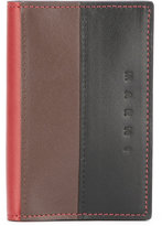 Marni tricolour wallet - men - Leather - One Size