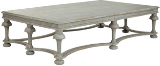 OKA Belves Coffee Table - Antique Blue