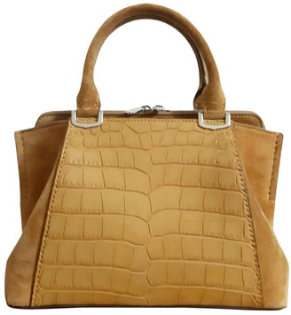 Cartier C Ecru Crocodile Handbags