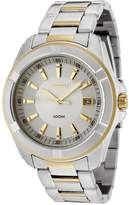 Seiko Men's SGEE74 Dial Two-Tone Stainless Steel Watch