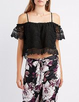 Charlotte Russe Satin Floral Palazzo Pants