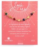 Dogeared Women's Seek It All Bezeled Bracelet