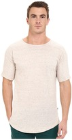 Publish Titus - Speckled Lightweight Cotton Seamless Sleeve Shoulder Panel Knit Tee