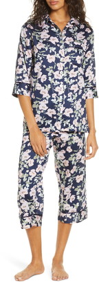 Papinelle Poppies Crop Pajamas