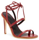 Tibi Amber II Ankle Lace Sandal