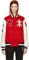 Opening Ceremony Red Canada Global Varsity Jacket