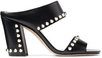 Jimmy Choo Matty 85mm stud-embellished sandals