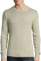 ST. JOHN'S BAY St. John's Bay Long-Sleeve Classic-Fit Crewneck Sweater