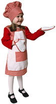 Red Gingham Chef Dress-Up Set - Toddler & Girls