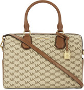 MICHAEL Michael Kors Mercer heritage leather duffle bag