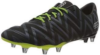Canterbury of New Zealand Unisex Adult's Phoenix 2.0 Soft Ground Rugby Boots, Black (Black Adult Unisex), 8 (42.5 EU)