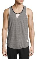 Kinetix South Beach Heathered Cotton-Blend Tank Top