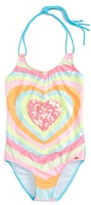 Pilyq Girl's Embellished One-Piece Swimsuit