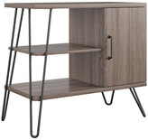 Design Studio A Ellie 3-Shelf Bookcase, Distressed Gray Oak