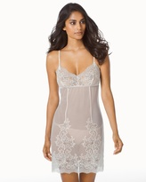 Soma Intimates Ophelia Sheer Sleep Chemise Ivory