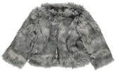 Hundred Pieces Manhattan Faux Fur Coat