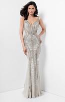 Terani Evening - Full Length Beaded Sleeveless Evening Gown 1711GL3552