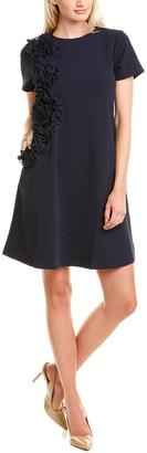 Gracia Ruffled Shift Dress