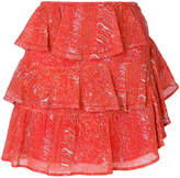 IRO ruffle tiered Ivona skirt