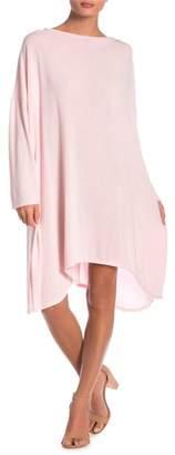 Couture Go Long Sleeve Oversized Sharkbite Dress