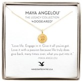 Dogeared Women's 'Legacy Collection - Love Life' Pendant Necklace