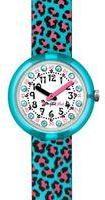 Flik Flak Turquoise Jubatus Watch FPNP008