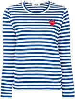 Comme des Garcons striped longlseeved T-shirt