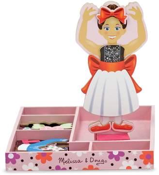 Melissa & Doug Nina Ballerina Magnetic Wooden Dress-Up Doll